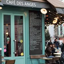 Un restaurant : Le café des Anges
